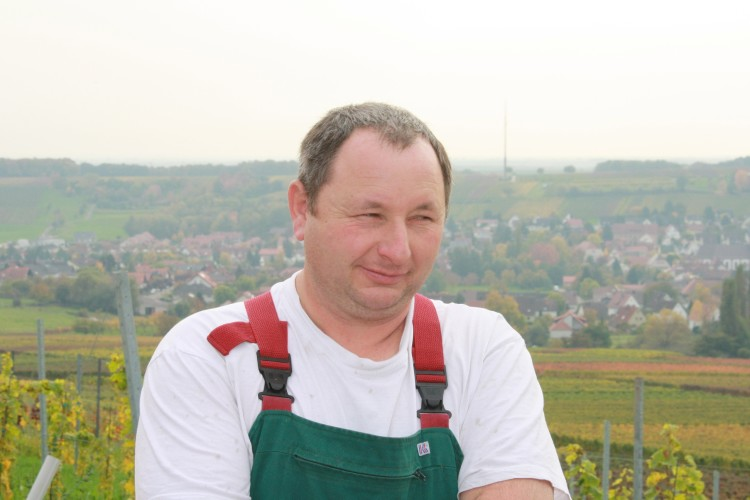Winzer Gerhard Hoffmann