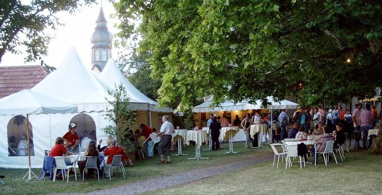 Weinfest St Laurentiusgarten