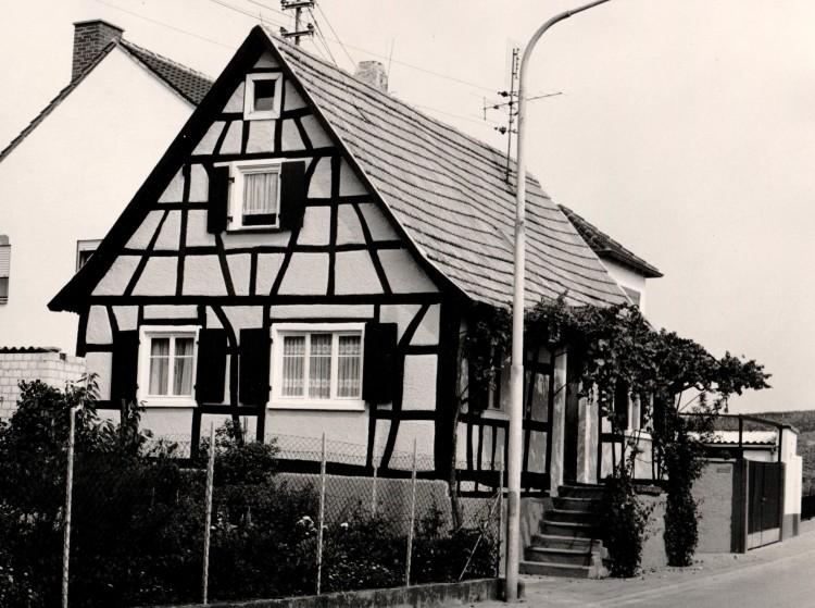 Haus in den 70er b